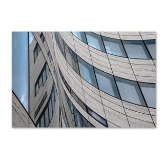 Gilbert Claes 'Windows' Canvas Art