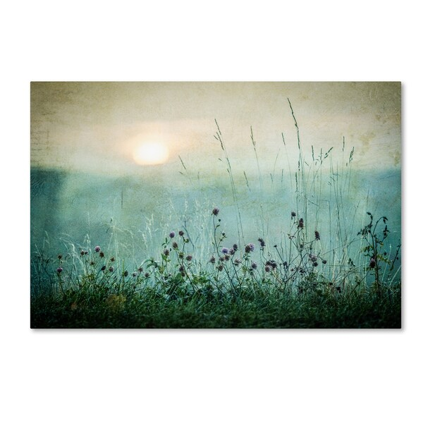 Asmund Kvarnstrom 'Autumn Sunrise' Canvas Art