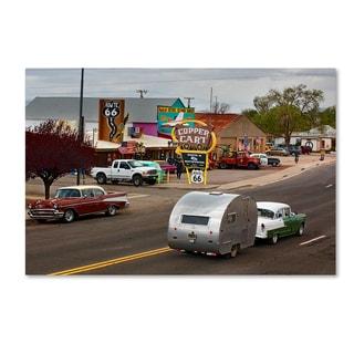 Mike Jones Photo 'Rt 66 Fun Run Motoporium' Canvas Art