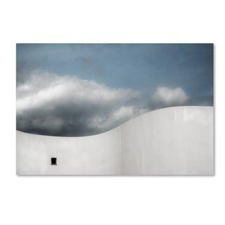 Gilbert Claes 'Schauspielhaus' Canvas Art