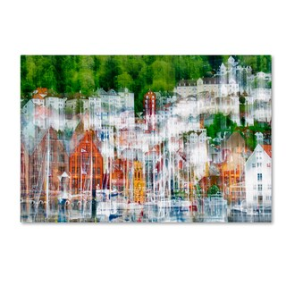 Wayne Pearson 'The More You Look The More You See' Canvas Art