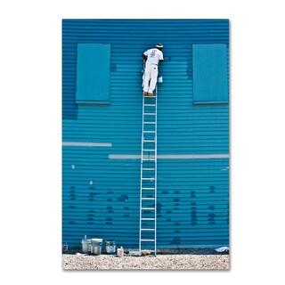 David Scott 'Blues Expert' Canvas Art