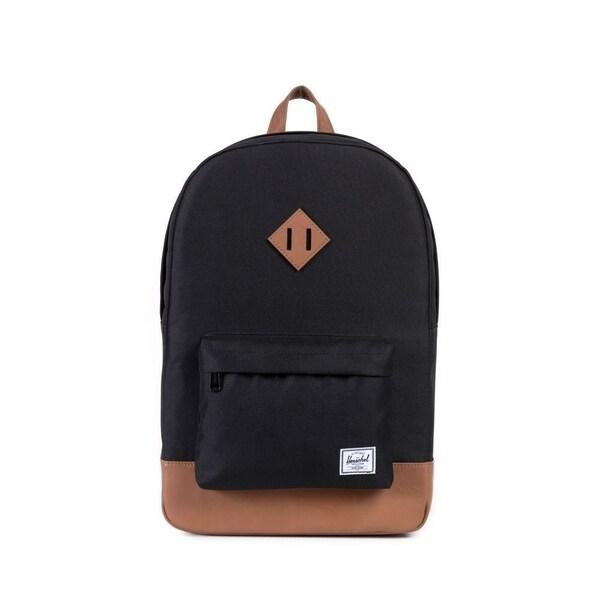 8afeaf9333 Shop Herschel Supply Co. Heritage Backpack Black Tan - Free Shipping ...