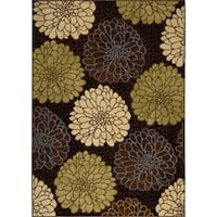 Porch & Den Morling Black Area Rug - 7'8 x 10'4