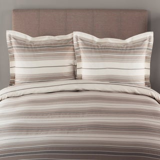 Porch & Den Madrona Marion Stripe 300 Thread Count Cotton Duvet Cover Set