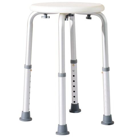 HomCom Round Medical Shower Stool