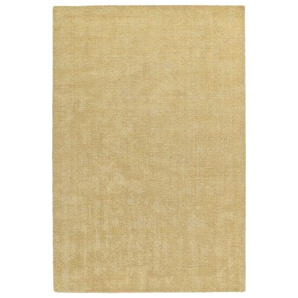 """Indoor/Outdoor Handmade Tula Sable Polyester Rug - 5' x 7'6"""""""
