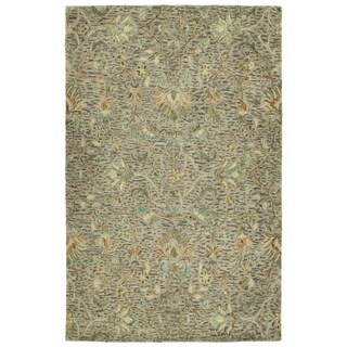 Bombay Home Ashton Taupe Wool Hand-tufted Oriental Area Rug (5' x 7'9)