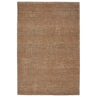 "Hand-Tufted Brantley Paprika Wool Rug - 5' x 7'9"""