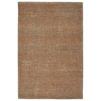 Hand-Tufted Brantley Paprika Wool Rug - 5' x 7'9""
