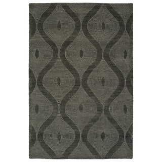 Hand-Tufted Brantley Charcoal Wool Rug - 5' x 7'9""