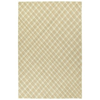 """Hand-Tufted Snook Camel Wool Rug - 5' x 7'9"""""""