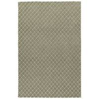 Hand-Tufted Snook Grey Wool Rug - 5' x 7'9""