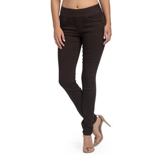 Bluberry Women's Briony Brown Straight Leg Denim