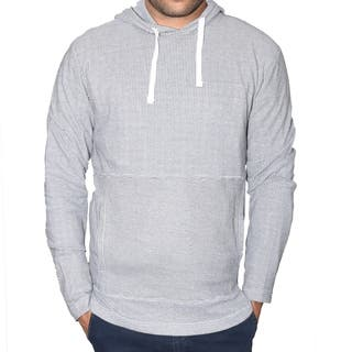 StraightFaded Mens Long Sleeve Thermal Waffle Fashion Hoodie (Option: Red)|https://ak1.ostkcdn.com/images/products/18054849/P24218969.jpg?impolicy=medium