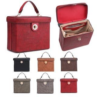Kate Marie Women Fashion Lunch Box Structured Handbag|https://ak1.ostkcdn.com/images/products/18054863/P24218806.jpg?impolicy=medium