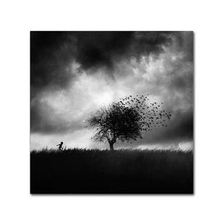 Sebastien Del Grosso 'Printemps Perdu' Canvas Art