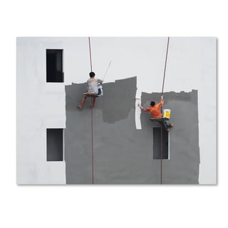 Wayne Pearson 'Just A Jump To The Left' Canvas Art