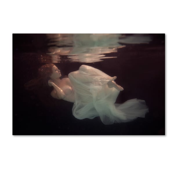 Gabriela Slegrova 'Sleeping Beauty' Canvas Art