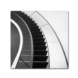 Gerard Jonkman 'The Way Up And Down' Canvas Art