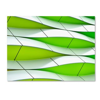 Gerard Jonkman 'Waving' Canvas Art