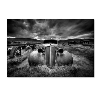 Carsten Schlipf 'Too Old To Drive' Canvas Art