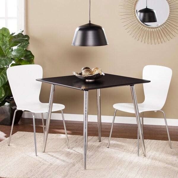 Porch Den Sorlie Small E Dining Table Black