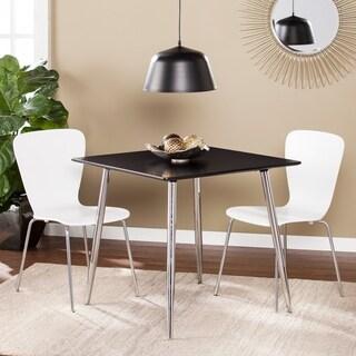 Harper Blvd Berman Black Square Small Space Dining/Game Table