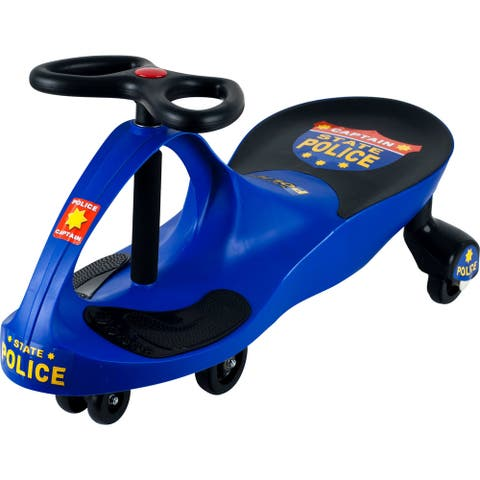 Ride on Toy, Emergency Vehicle Ride on Wiggle Car by Lil? Rider