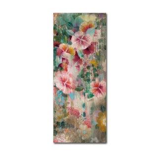 Danhui Nai 'Flower Shower III' Canvas Art