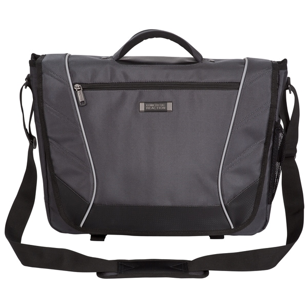 1dee7a45ab Kenneth Cole Reaction Flapover Crossbody 17-inch Laptop Messenger Bag