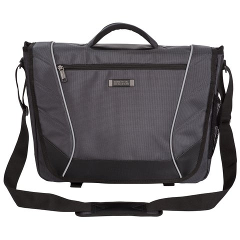 Kenneth Cole Reaction Flapover Crossbody 17-inch Laptop Messenger Bag
