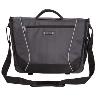 Kenneth Cole Reaction Flapover Crossbody 17-inch Laptop Messenger Bag