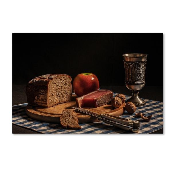 Joe Boehmer 'Supper' Canvas Art