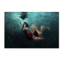 Martha Suherman 'Ocean Of Roses' Canvas Art