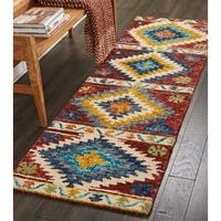 Nourison Vibrant Diamond Panel Area Rug