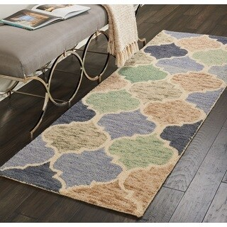 Nourison Vivid Light Multicolor Moroccan Runner Rug (2'3 x 7'6)