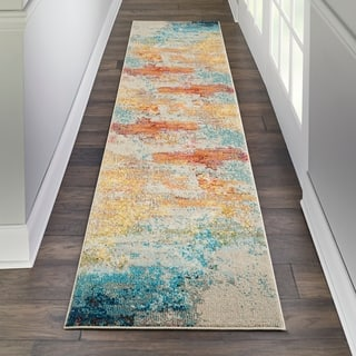 Nourison Celestial Sealife Runner Rug (2'2 x 7'6)|https://ak1.ostkcdn.com/images/products/18056587/P24220257.jpg?impolicy=medium