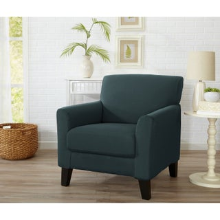 Home Fashion Designs Dawson Collection Twill Form Fit Chair Slipcover