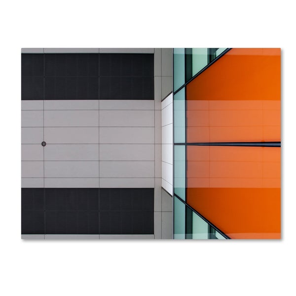 Henk Van Maastricht 'Architecture' Canvas Art