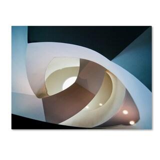 Henk Van Maastricht 'Top Light' Canvas Art