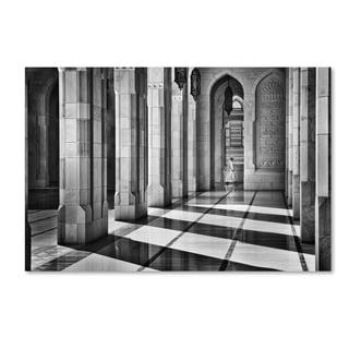 Izidor Gasperlin 'Shadows In The Mosque' Canvas Art