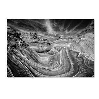 Justin Hofman 'Liquid Rock   The Wave' Canvas Art