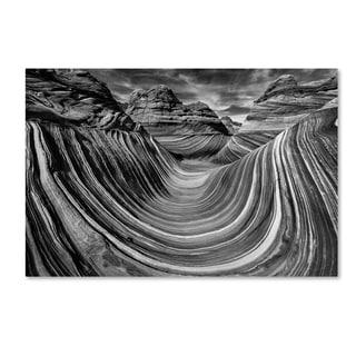 Justin Hofman 'Liquid Rock 2   The Wave' Canvas Art