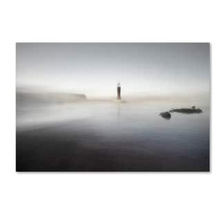 Santiago Pascual Buye 'The Lighthouse Of Nowhere' Canvas Art