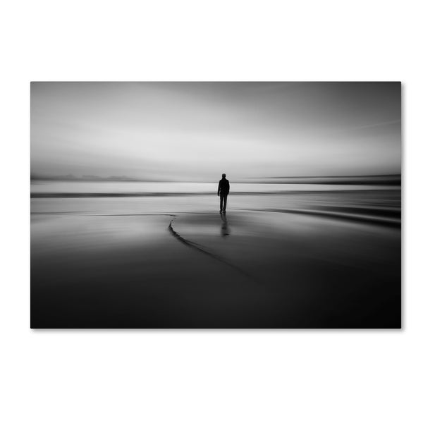 Santiago Pascual Buye 'Walking To Nowhere' Canvas Art