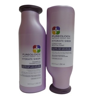 Pureology Hydrate Sheer 8.5-ounce Shampoo & Conditioner Duo