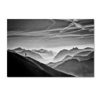 Vito Guarino 'Hunter In The Fog' Canvas Art