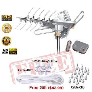 HD2605 LAVA HDTV Digital Rotor Amplified Outdoor TV Antenna|https://ak1.ostkcdn.com/images/products/18057126/P24220736.jpg?impolicy=medium