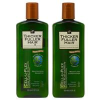 Thicker Fuller Hair 12-ounce Revitalizing Shampoo & Weightless Conditioner Duo